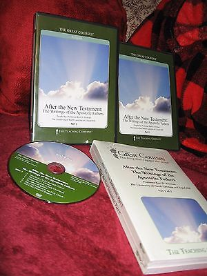 Bart Ehrman trashes the New Testament (again); 24 Teaching Company DVD lectures