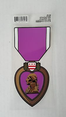 Military Decal Purple Heart Army Navy Marine Air Force