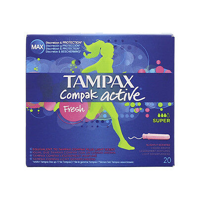 Tampax compak fresh super X20