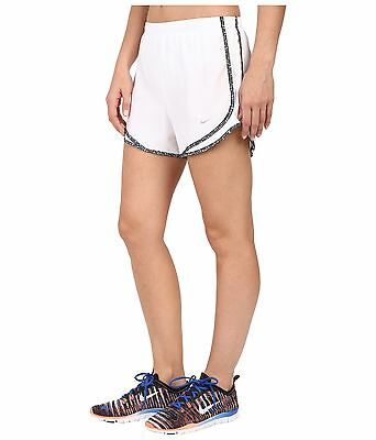 Nike Tempo Womens FA14 Shorts w/pocket White, Small, Running, Gym- New with Tags