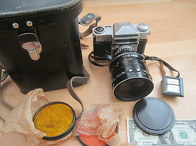 OLD Russian Camera Zenit-6 Zenith-6 GREAT LENS + Kit RARE!!!