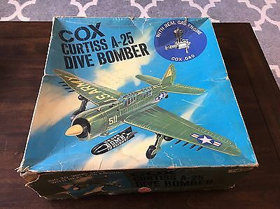 Cox Curtiss A-25 Dive Bomber Line Control .049 Army Helldiver Airplane