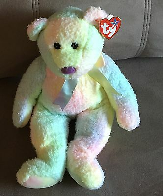 TY Beanie Baby: Groovy The Tie Dyed Bear