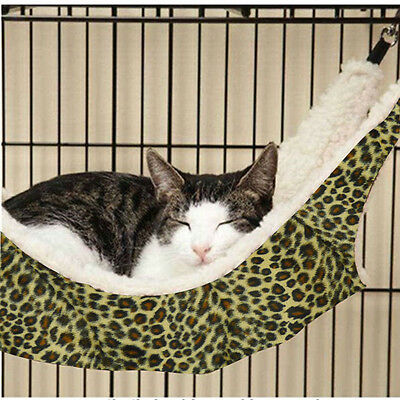 Hot Cat Hanging Hammock Bed Pad Cage Comforter Ferret Large New House Toys