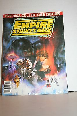 Vintage 1980 Star Wars: Empire Strikes Back Official Collectors Edition Magazine