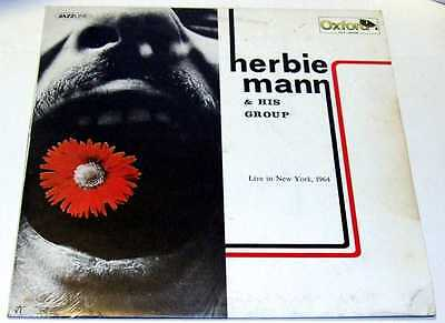"""Herbie Mann """"Live in New York, 1964"""" - Oxford 1976 (OX/3029 made in Italy)"""