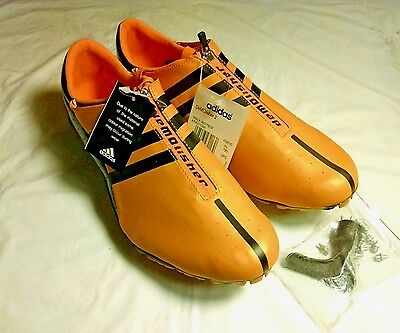 ADIDAS DeMOlisher 2 Orange & Black Womens Track And Field Shoes Size: 10