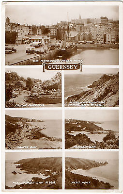 Guernsey M/view c1945(Real Photograph)sent to Sgt.Macklin,REME,Brt.Forces,Greece