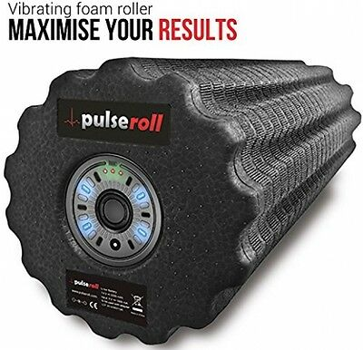Pulseroll Vibrating Foam Roller For Deep Tissue Muscle Massage - Myofascial And
