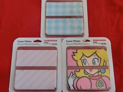 Nintendo New 3DS Cover Plates, Faceplate, Zierblende, Weiß, Mario World, OVP