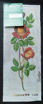 Crafts Preprinted Canvas - Roses - Twilleys - L600 - Unused X Stitch Tapestry