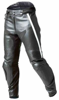 BMW Motorcycle Leather Trouser Motorbike Racing Pant Trouser,Knee,ARMOR(Replica)