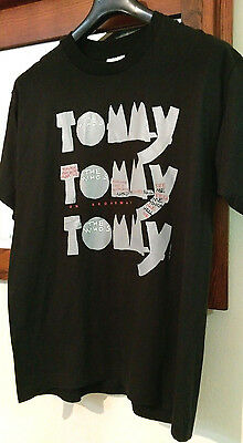 *NWOT* TRUE VINTAGE The Who's Tommy On Broadway Graphic Tee L 1993. *NEVER WORN*