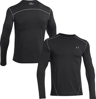 Men's Under Armour Coldgear  Long Sleeve Shirt Black  SM, MD, LG   $38