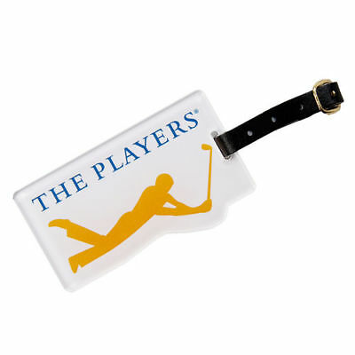 "THE PLAYERS 3"" x 3"" Acrylic Golf Bag Tag - Golf"