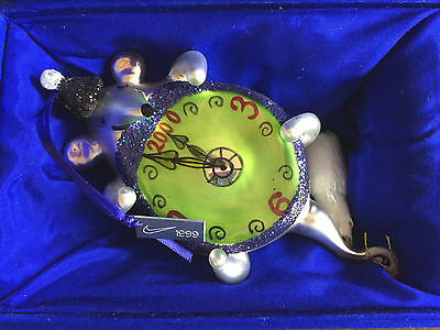 Amazing NIKE 1999 Millennium Mouse Christmas Ornament COLLECTORS Torrence Design