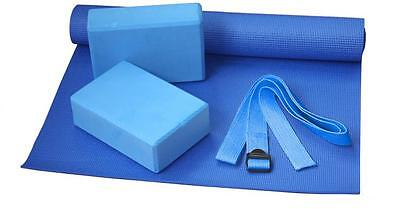 BODYLINE Set Yoga Accessori Fitness Palestra Da Casa Sport