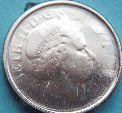 Very RARE Unknown year 5p coin misstruck Minting Error British Sterling