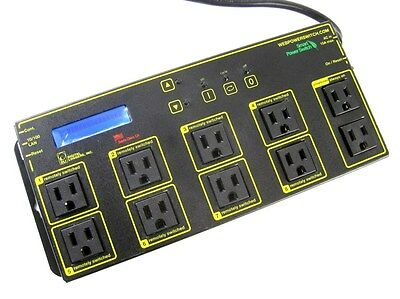 Digital Loggers LPC7 8 Device Remote Reboot Control Over Ethernet Power Switch