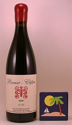 2009 Brewer - Clifton 3-D Pinot Noir Sta. Rita Hills   James Suckling 95 Points!