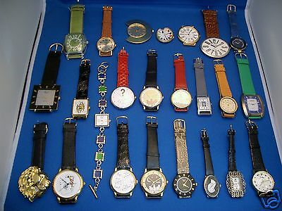 Lot of 24 Fashion & Novelty Quartz Watches