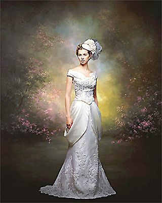 9' x 16' Hand-Painted Canvas Scenic/Old Master Photo Backdrop Background 42-100