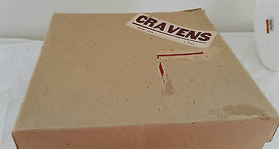 1950s Craven's Department Store Adelaide Mail Delivery Cardboard Hat Box