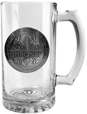 Game of Thrones Stein Glass Logo Badge