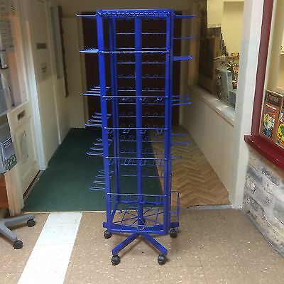 Large Rotary Retail Display Stand on new Locking Castors