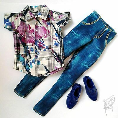 Barbie doll Fashion clothes set shoes for KEN doll