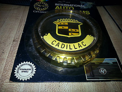International Auto Emblems CADILLAC GOLD  Screw onto Grille grill