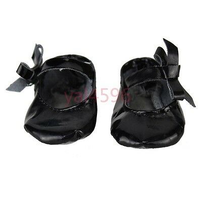 Black Doll shoes Wearfor 43cm Baby Born zapf (only sell shoes)