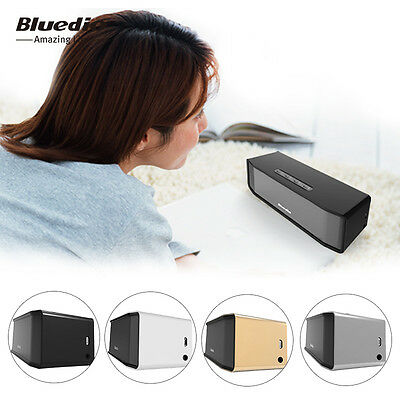Bluedio BS-2 Mini Altavoz Bluetooth Inalámbrico Portátil para iphone Samsung