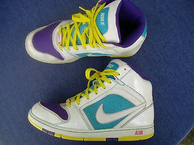 NIKE AIR PRESTIGE High Top 334480-154 Basketball Shoes Womens Size US 9.5/ EU 41