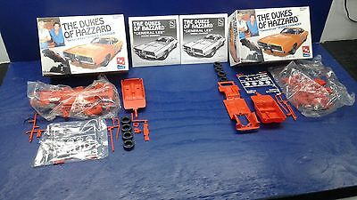 "AMT 1/25 scale model The Dukes of Hazzard ""General Lee"" Dodge Charger kit # 8597"