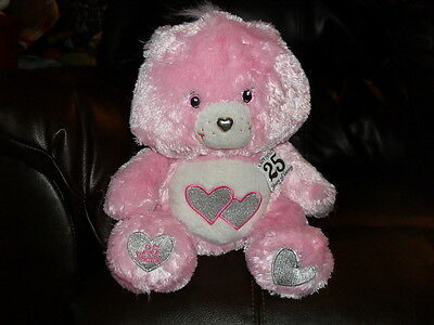 Care Bears 25th Anniversary Collector's Edition Love-A-Lot Bear with Tag