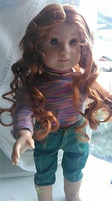 Gorgeous Custom American Girl Doll. Ivy to Greta Very good Condition OOAK