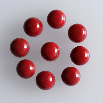 10MM Round Shape, Red Coral Calibrated Cabochons AG-231
