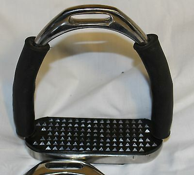 Black and S/S Safety Stirrups