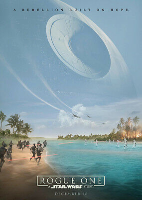 NEW - ROGUE ONE A STAR WARS STORY Promo Card #1 - Death Star