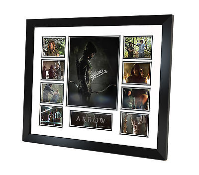 Arrow - Signed Photo - Memorabilia - Framed - Limited Edition