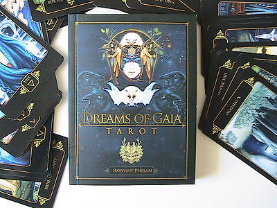 Dreams of Gaia Tarot cards and guide book in box - brand new seconds see decript