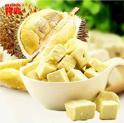 Fresh durian freeze-drying Pure feeling Flavour to rich Crispy delicious 50g*2