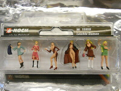 Noch 15959  Ladies of the Night ( 6 ) H0 Scale