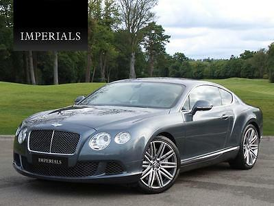 2013 Bentley Continental 6.0 Speed W12 GT 2dr