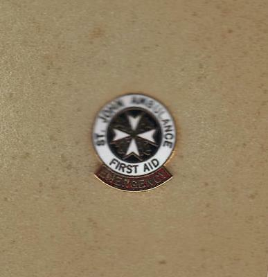 St John Ambulance Emergency Pin