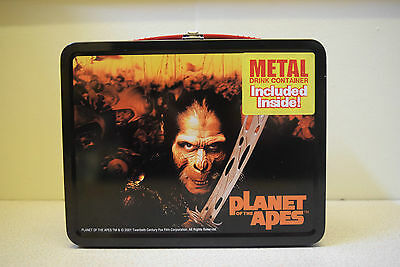 Planet Of The Apes Metal Lunchbox With Metal Drink Container #4 NECA Lunch Box