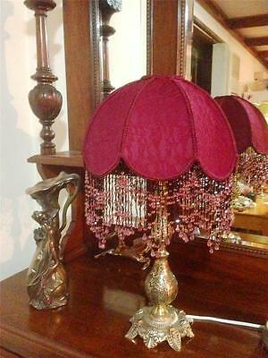 FANTASTIC  stunnung new handcrafted shade for a table lamp