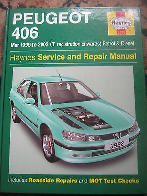 Peugeot 406 March 1999 To 2002 Petrol And Diesel Haynes Workshop Manual