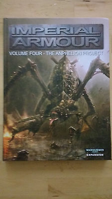 Imperial Armour Volume 4 The Anphelion Project Second Edition
